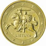0.50 Euro Lithuania