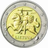 2 Euro Lithuania